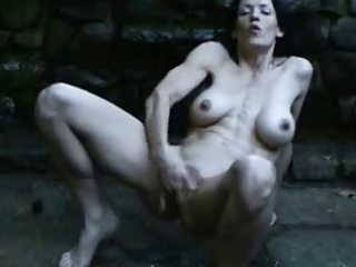 great squirting outdoor of hot mature.