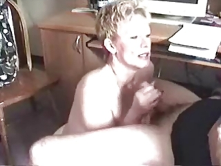 granny oral-stimulation