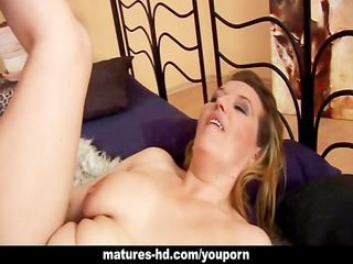 kinky aged chick screwed from behind