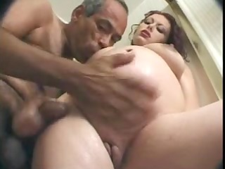 aged boyfrend copulates pregnant woman