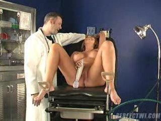 doctor and his assistant takes care of milf s big