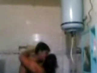 indian mature pair fucking very hard in baths