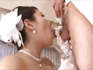 mature brides drinking cum