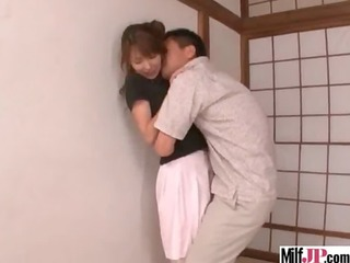 hawt hot japanese milf acquire group-fucked