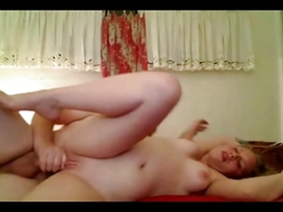 horny fat chubby gf having fun with her older bf