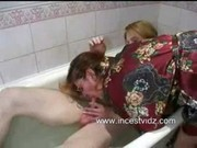 mama son having sex in bath tub