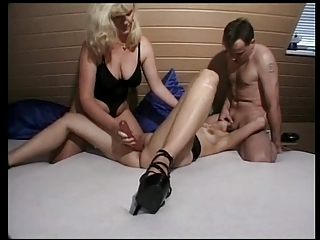 german mother i helps a pair during their sex