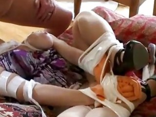 tied up d like to fuck gets fucked in bizarre way