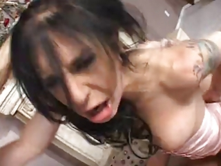 breasty and sexy mom receives rough screwed