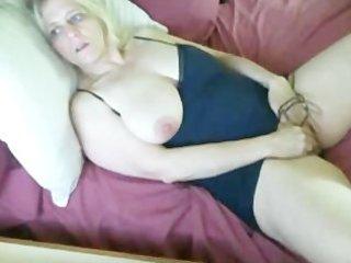 breasty older toying.