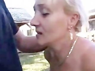 german mature with great oral skills acquires