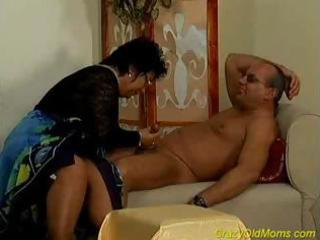 avid old mama receives drilled hard