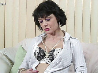 perverted british mother working her bawdy cleft