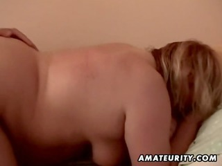 fat dilettante older wife drilled by a youthful