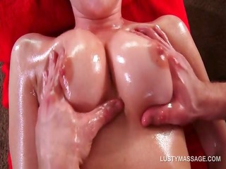 hot brunette hair acquires fuck holes fingered at