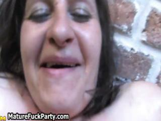 excited older group sex party part7