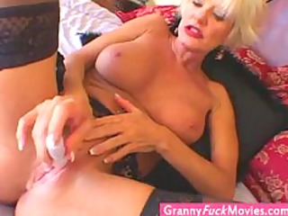 extraordinary super sexy blonde granny