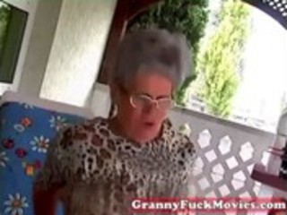 young fellow fucking old fat granny