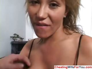 mad house wife acquires a facial