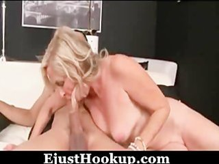 blond hot mother i and young lad