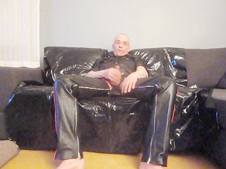 mr.mature leather wanks