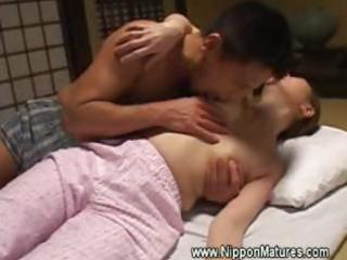 oriental japanese mother i receives irrumation by