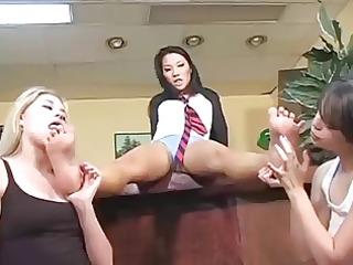 sexy foot fetish gals