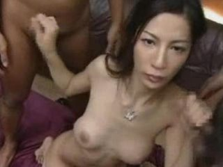 gal soaked curly oriental d like to fuck gang