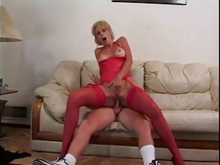 milf acquires a fucking and a facial